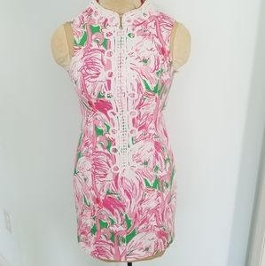 Lilly Pulitzer Alexa shift dress in pink colony